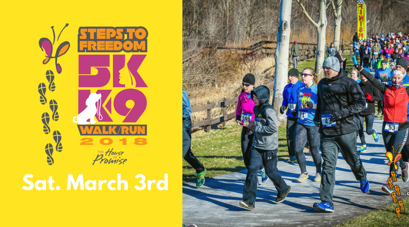 Charity 5K run for human trafficking